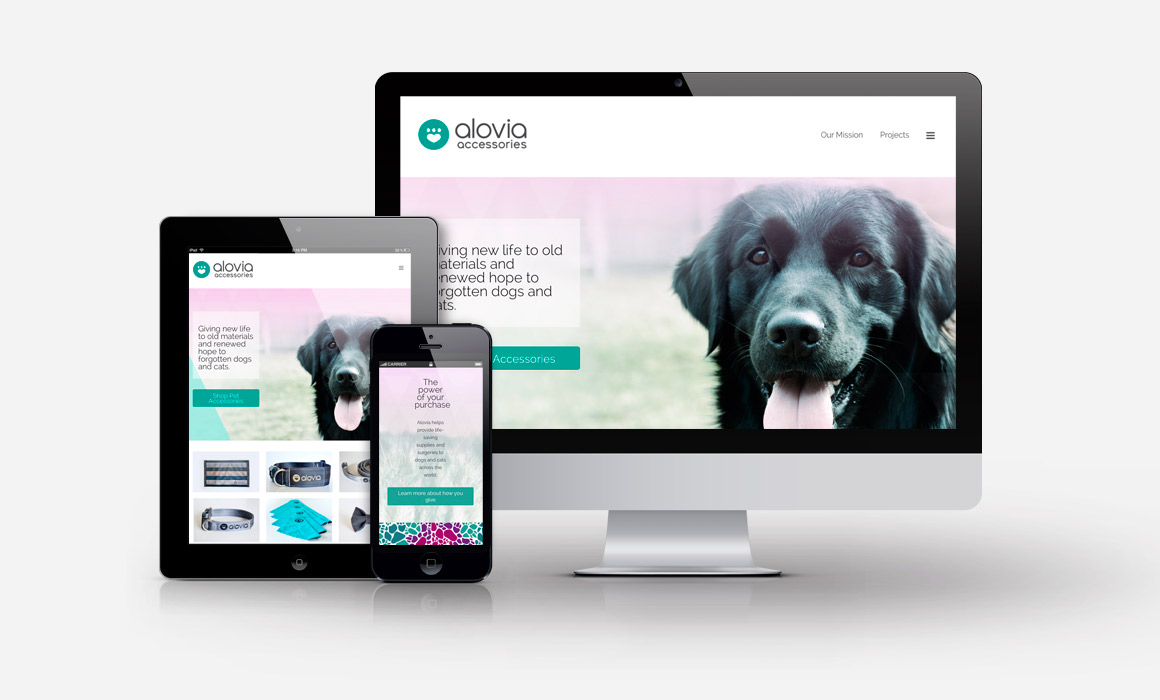 Alovia - Website