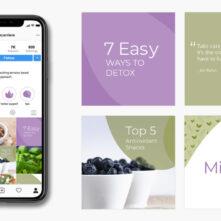 Nutritionist Social Media Branding